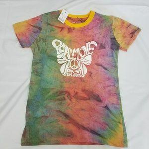 Girl Scouts 14/16 Tie Dye TShirt New